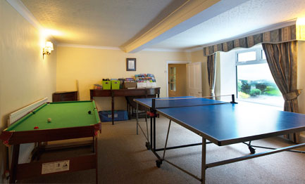 throwley hall games room